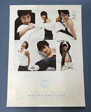 SHINHWA - 10TH Anniversary WHITE EDITION OFFICIAL POSTER *HARD TUBE CASE*