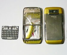 Gold Fascia housing cover facia case faceplate for Nokia E71 fascia