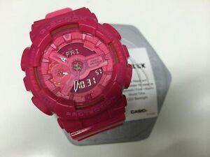 Casio G-Shock GA110 Base Hyper Colors Ladies Watch GMA-S110CC-4A