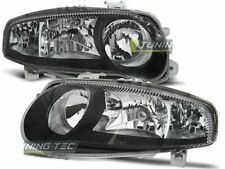 Headlights for ALFA ROMEO 147 01-04 Black WorldWide FreeShip US LPAR03 XINO US