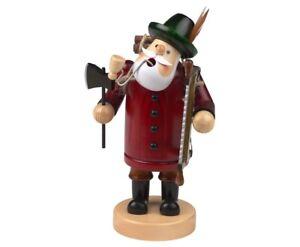 German Christmas incense smoker Lumberjack, wood cutter