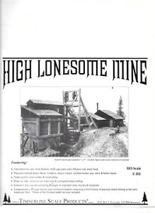 Timberline Scale Models Kit # C202 High Lonesome Mine Colorado Rocky Mountains