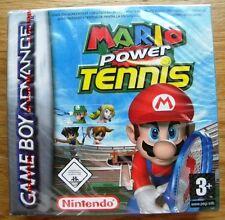 MARIO POWER TENNIS NINTENDO GAME BOY ADVANCE