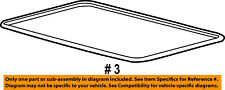 FORD OEM Sunroof Sun Roof-Weatherstrip Seal 8L8Z7851884AB