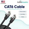 CAT6 Ethernet Internet Cable LAN Network Modem Router Patch Cord 1.5-100FT Lot