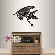 Vinyl Decal Flying Eagle Wild Bird Hawk Any Room Removable Wall Sticker 1296