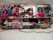 Michelle Obama MAGAZINE Covers  Large CLUTCH PURSE with Bow