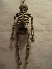 """JWM """"PLASTIC  SKELETON ORNAMENTS"""" ~ Pack of 4 ~ Great For Decorating"""