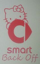 Hello Kitty/Smart Car/Sticker