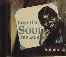 LOST DEEP SOUL TREASURES - Volume #4 - 23 VA Tracks