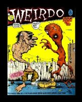 WEIRDO #27, 1988, ROBERT CRUMB, LAST GASP, UNDERGROUND COMIC