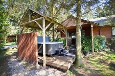 Winter 2 Night Midweek break in Log Cabin with Hot-Tub at Rocklands Lodges