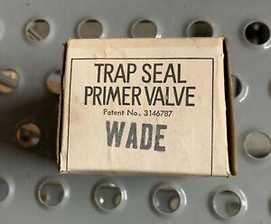 "1/2"" Wade Trap Primer Seal Valve (Solder Connections)"