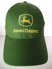 John Deere Green & Yellow Traditional Truckers Hat/Cap Embroidered Tractor Farm