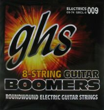 GHS Boomers 8 String Set Guitar Strings CL Custom Light 9-74 009 Electric