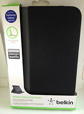 """Belkin Stripe Multi Angle Cover Case with Stand Samsung Galaxy Note 8""""BLACK"""