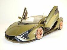 1 18 Bburago Lamborghini Sian FKP 37 2020 Matt-olive