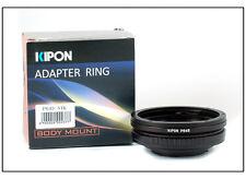 Kipon Adapter for Pentax 645 Lens to Nikon SLR camera