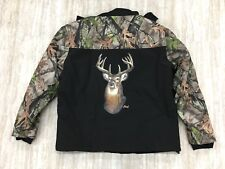 Bradford Exchange The Great Outdoors Camouflage Men' Softshell  Jacket Size:XL