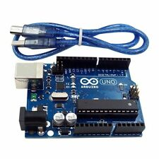 Arduino / Genuino UNO R3 Compatible ATmega328P & ATmeg a16U2 with USB cable