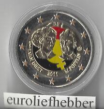 België    Gekleurde  2 Euro  Commemorative  2011  UNC