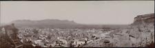 Espagne, Sagunto, Panorama de la ville, 1908, Vintage citrate print Vintage citr