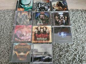 Hard Rock div. CDs CD Sammlung Lordi, Disturbed, Blind Guardian usw 11 CDs