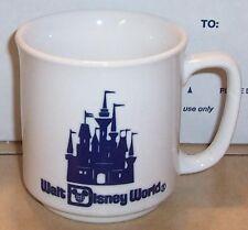 Vintage 80's Walt Disney World Souviner Coffee tea Cup Rare OOP #2