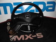 Lederlenkrad mit Schaltknauf und Handbremshebel Mazda MX-5 NBFL Unplugged