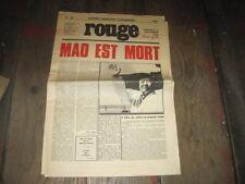 ROUGE N) 149, 10/9/1976  MAO EST MORT
