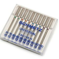 10 Nähmaschinen-Nadeln Schmetz Universal 130/705H Sortiment 70,75,80,90,100