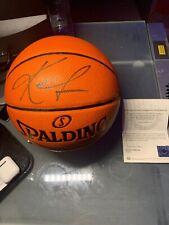 Kevin Love Autographed Full Size Basketball UDA Buckets COA Cavaliers
