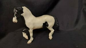 Retired Breyer Horse #1148 The Gypsy King Black Pinto Vanner Stallion Draft