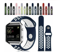 For Fitbit Blaze Replacement Silicone Sports Band Strap