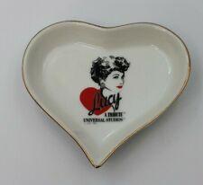 Lucy A Tribute Universal Studios Heart Trinket Dish -1991