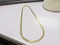 Thick  20 Inch Herringbone Necklace for Man or Woman 100% 14k Gold   Make Offer