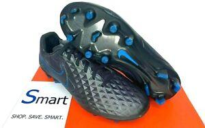 $130 NIB MULTI SIZE MEN WOMEN Nike LEGEND 8 PRO Tiempo FG Soccer Cleats Black