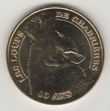 -- 2011 COIN MEDAILLE TOKEN JETON MONNAIE DE PARIS -- 23 000 LOUPS DE CHABRIERES