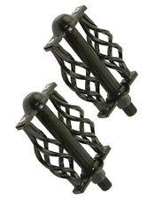"Twisted Pedals W/Cage 1/2"" Black. bike pedal, lowrider,beach cruiser,chopper"
