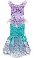 Disney Store The Little Mermaid Ariel Halloween Costume Size 7/8