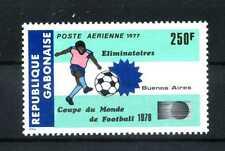 Timbre Gabon 1977 menthe 640 football WM dans Argentine BR165