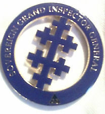 Masonic Sovereign Grand Inspector General Cut-Out Car Emblem