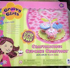 New Groovy Girls Manhattan Toy Craftalicious Cupcake Creations Set Nib Gift Box
