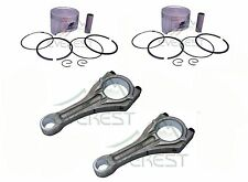 NEW HONDA GX670 V TWIN CONNECTING ROD 78MM PISTON KIT PIN RINGS CLIPS SET
