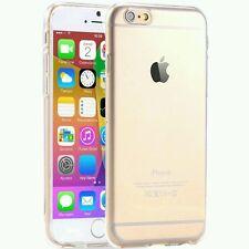 Cover Custodia Apple iPhone 6 6S Sottile Trasparente Gel Silicone