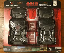 Stealth QS18 4 PACK 18MP Game Camera Infrared Trail Camera STC-QS18-4PK