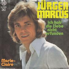 Marcus Jürgen - Ich hab' die Liebe nicht erfunden