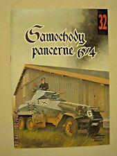 Samochody Pancerne 6 X 4  # 32  (6X4 Armored Cars)**POLISH TEXT**