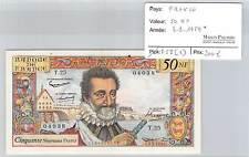 BILLET 50 Nouveaux Francs HENRI IV   3-9-1959*