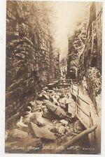 Flume Gorge White Mountains New Hampshire USA Vintage RP Postcard 257a